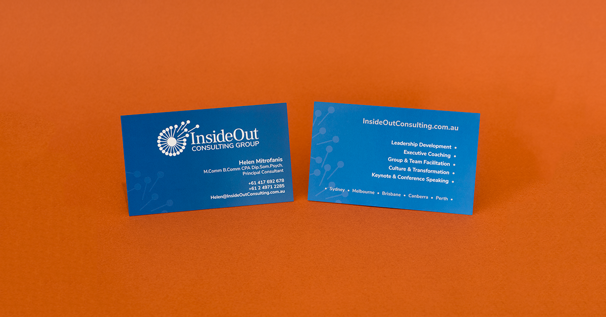Business Cards - BrainVox