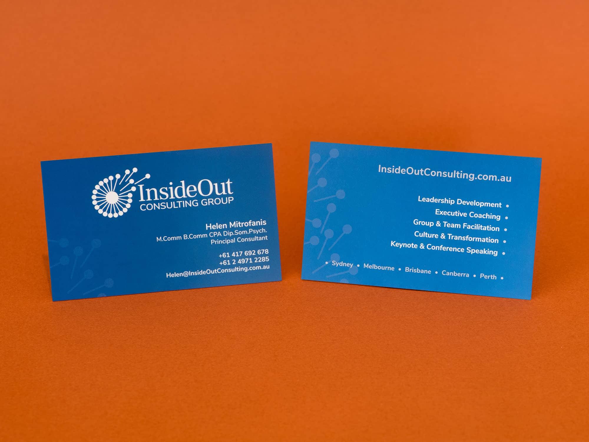 BrainVox - Business Cards