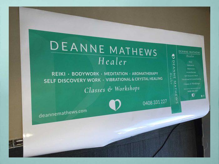 BrainVox - Deanne Mathews - Sign Printing