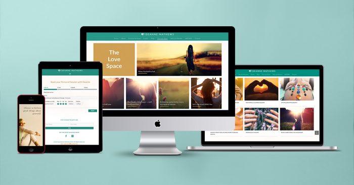 BrainVox - Website Design - Deanne Mathews