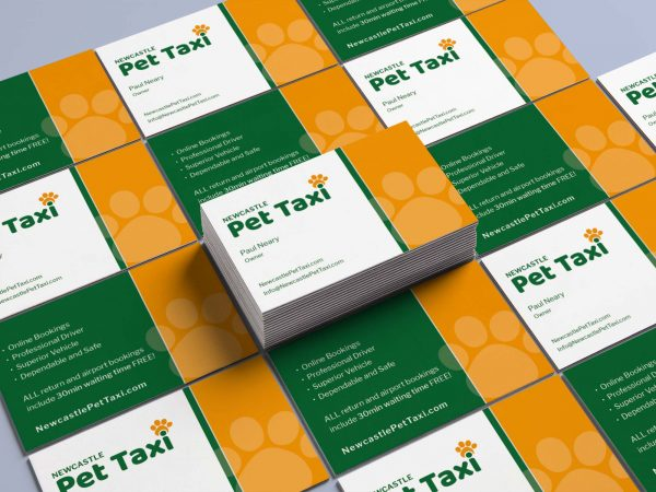 BrainVox - Newcastle Pet Taxi - Business Cards